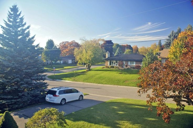 Looking out at the neighbourhood from a North Oshawa home (photo: Dave Melnychuk)
