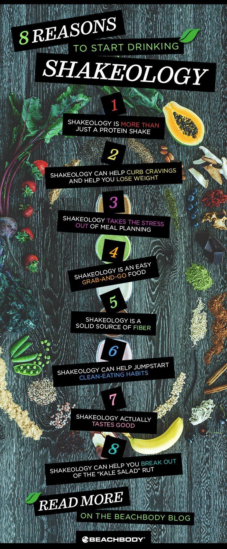 What exactly is Shakeology? Read the full blog to get the run down. Shakeology recipes // what is in Shakeology // healthy smoothies // superfoods // Beachbody // Beachbody Blog // #shakeology