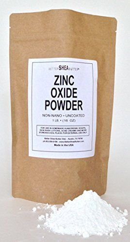 Zinc Oxide Powder - Non-Nano and Uncoated - Pharmaceutical Grade (99.9% pure) as certified by USP (United States Pharmacopeia) - Active Ingredient to add SPF to Sunscreens and Lotions - Professionally Packaged in 1LB Quality Heat Sealed Resealable Zip Lock Pouch - Made in USA and Packaged in an FDA Certified Facility.