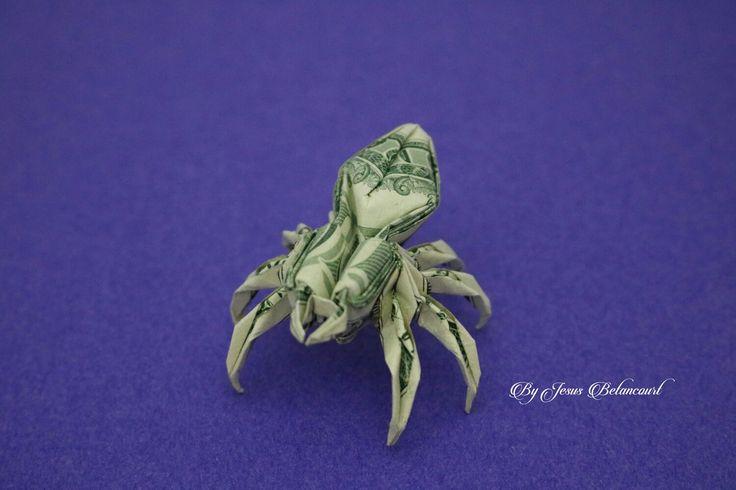Dollar Origami Spider