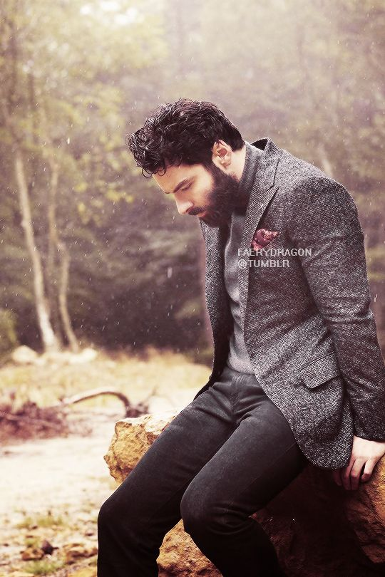 All About Aidan — faerydragon:    Aidan Turner for The Article...