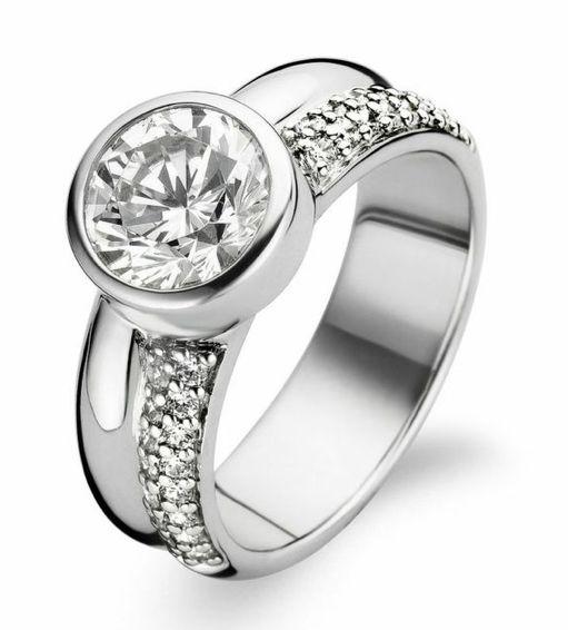 Ti Sento Sterling Silver Ring 1845ZI