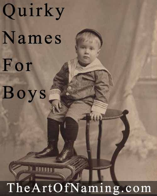 """If you're looking for a """"unique name"""", check out this quirky list! #babynames"""