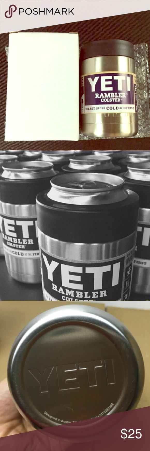 YETI COOLER 12oz ⚡️12oz YETI COOLER ⚡️ AUTHENTIC BRAND NEW NEVER USED!! PINK Victoria's Secret Accessories Hair Accessories