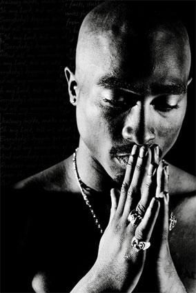 If I would have a poster of Tupac on my wall, this would be it. For sure.
