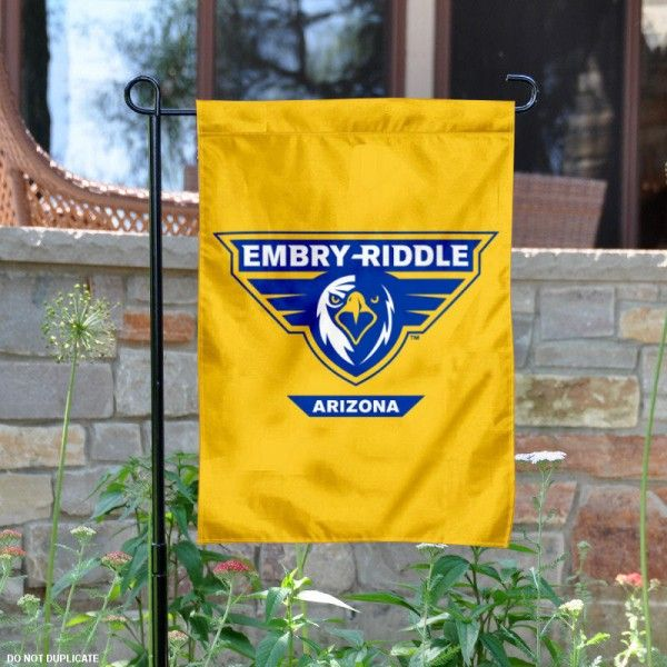 Embry Riddle Aeronautical University Garden Flag