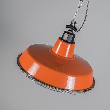 Lampa wisząca Strijp L pomarańczowa
