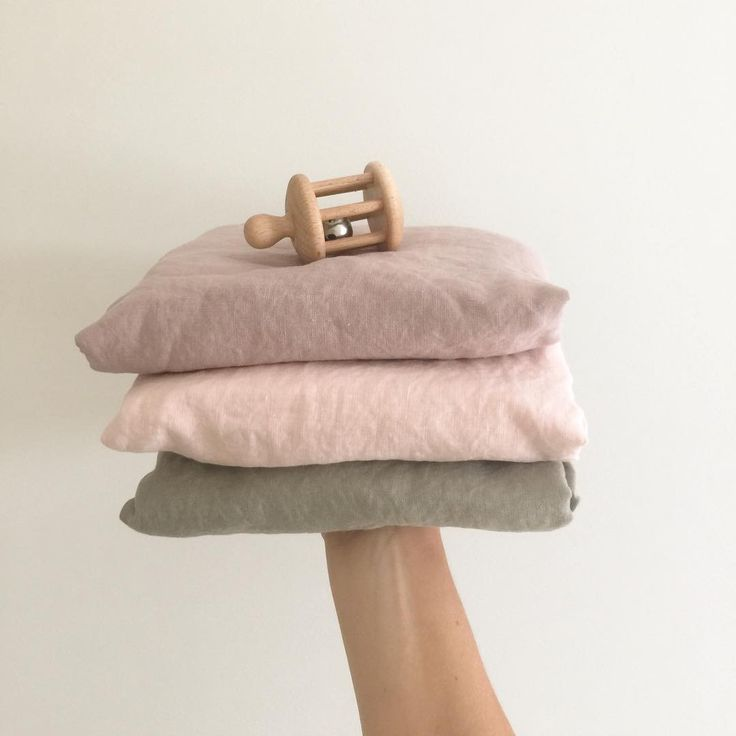 lilac floss and taupe linen cot fitted sheet