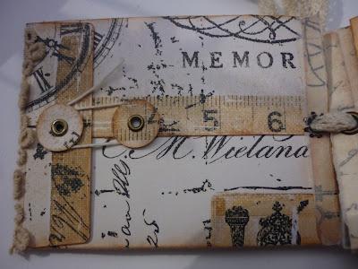 Pocket Envelope die / Prima Printery paper