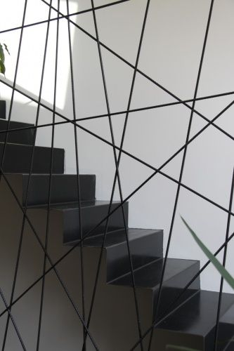 Metal Staircase by Agence AR QUO . Rebar.