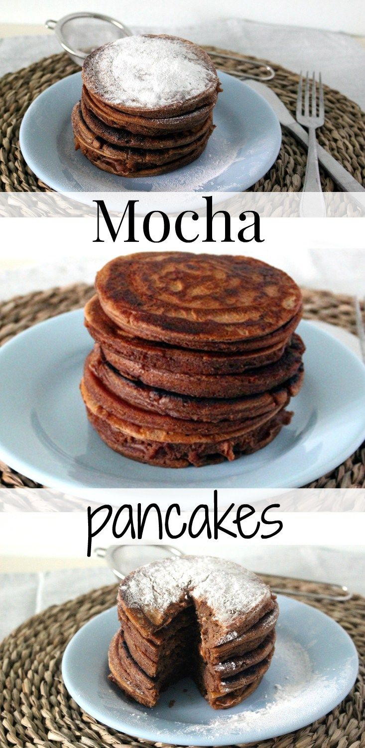 Mocha pancakes: the best way to start your day!