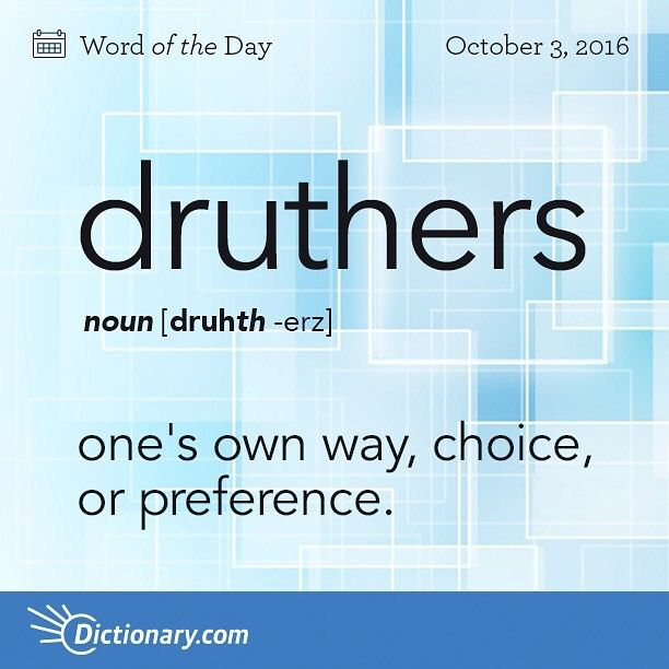 Druthers-