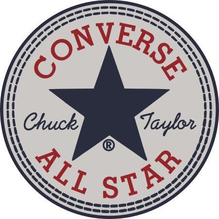 This site has the converse logo and you can replace any of the text in the logo in the correct font.  Maybe replace Chuck with Kelly and Taylor with M.J.?
