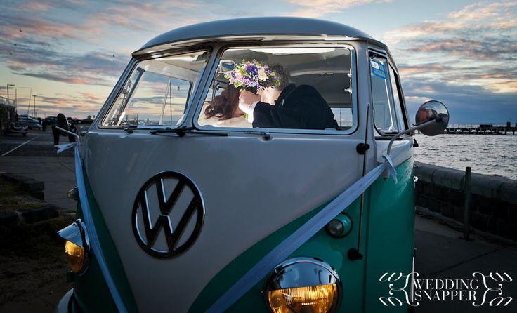 Candid & fun wedding photography at True South, Black Rock  http://www.weddingsnapper.com.au/carly-sam-true-south-wedding-photography-black-rock/