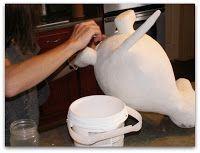 Whimsy Paper Mache.com: Make Paper Mache Clay