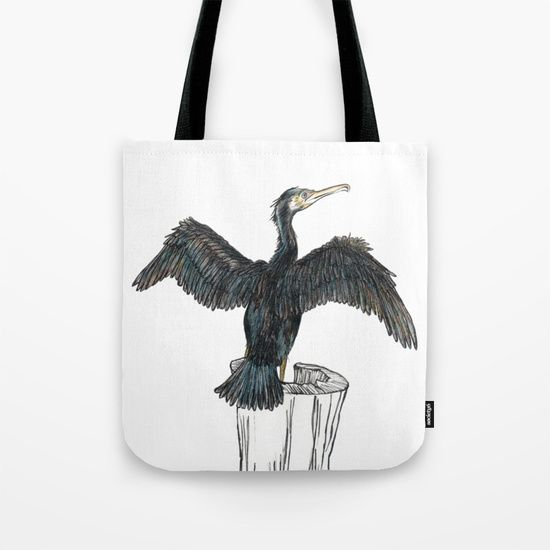 The Great Cormorant Tote Bag