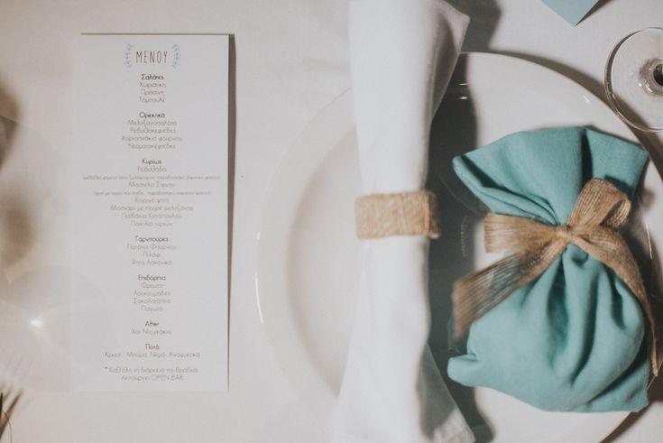 lafete, mint, wedding favour, Sifnos, Cyclades, table deco, menu