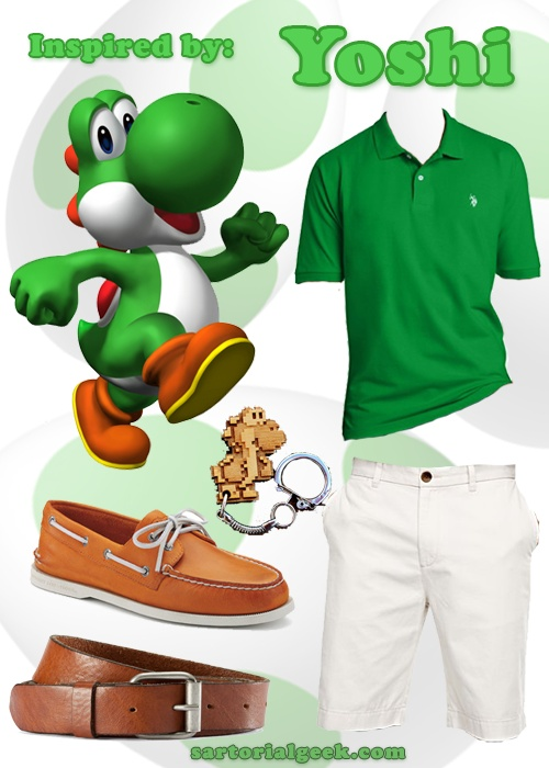 Outfit Inspired by Yoshi (Super Mario)