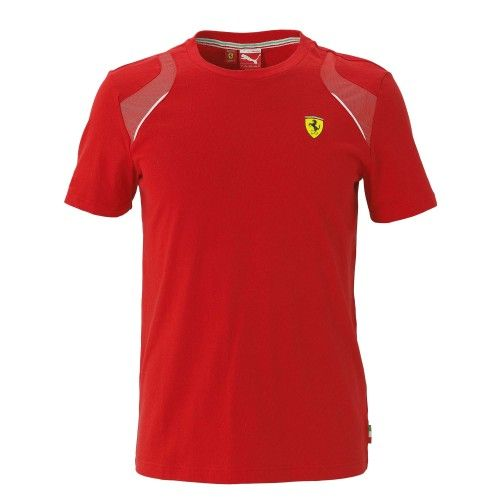 Scuderia Ferrari T-shirt #ferrari #ferraristore #RedDetails #ScuderiaFerrari #tshirt #rossoferrari #redmaranello #puma #cotton #prancinghorse #cavallinorampante