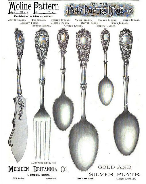 80 Best 1847 Rogers Bros Silverplate Patterns Images On