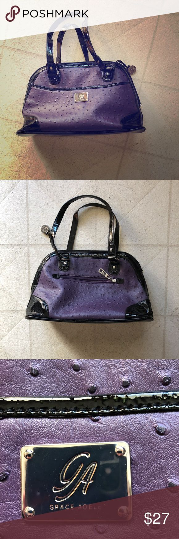 Purple Grace Adele Purse Very cute! grace adele Bags Mini Bags