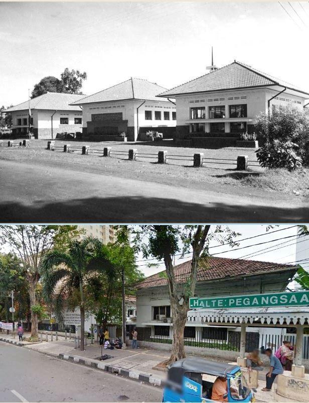 Het Koningin Wilhelmina Instituut voor Hygiëne en Bacteriologie, Batavia, 1930 1939 , ,., Gedung Mikrobiologi FKUI, jl Pegangsaan Timur no 16, Jakarta, 2015