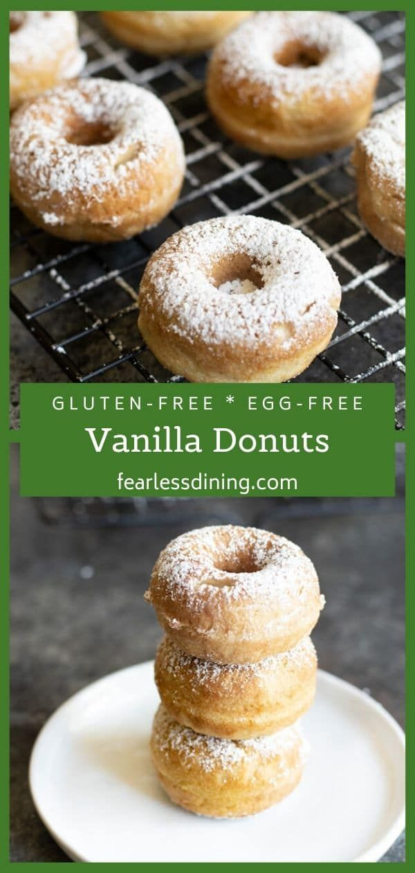 These Gluten Free Egg Free Donuts Are A Delicious Dessert For