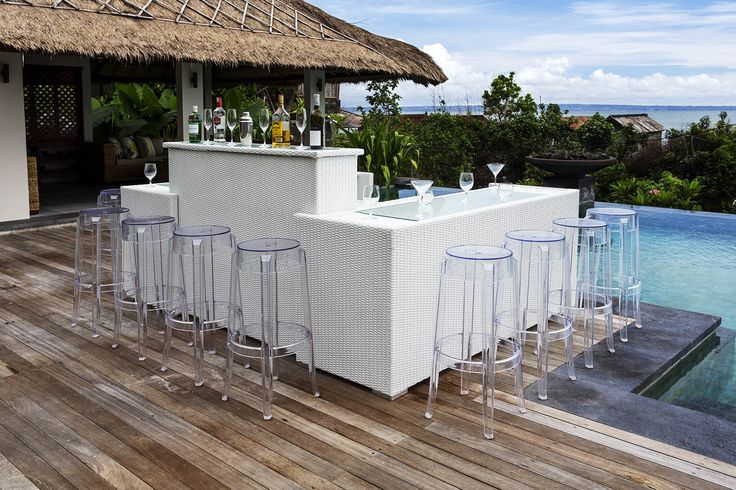 Ghost Bar Stools - Yesss!