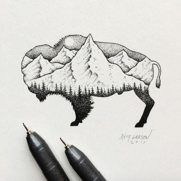 Sam Larson est un artiste illustrateur freelance qui exerce son superbe métier à Portland dans l'Oregon. Ce que j'aime dans tout son travail ce sont ses petits dessins qu'il réalise à l'aide de ses stylos Copic et de feuilles de papier. Regardez, j'ai fait une sélection dans son travail, mais j…