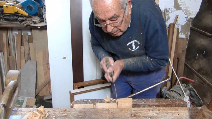 Mestre José Ventura Moita - Carpinteiro