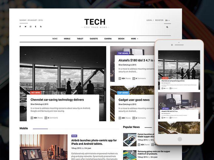 11 mejores imágenes de Free HTML5 Template en Pinterest | Diseño ...
