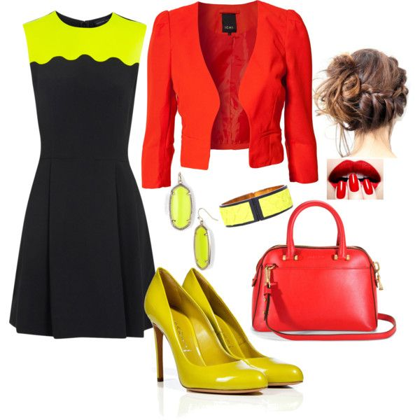 Red, Yellow & Black Variation