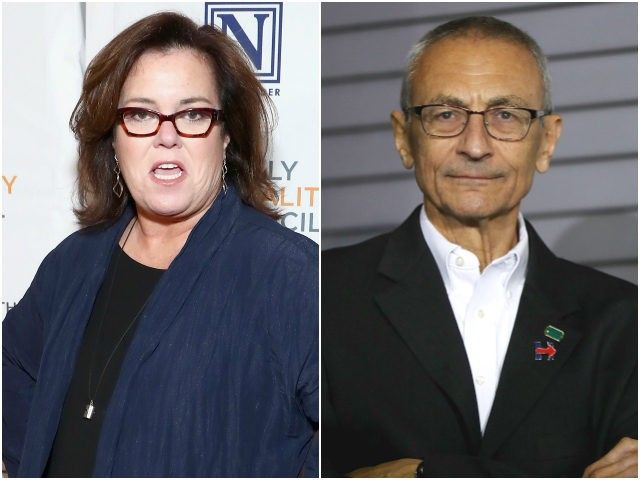 Rosie O'Donnell Backs Up John Podesta in Twitter Beef with Donald Trump