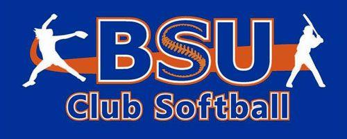 BSU Club Softball Logo