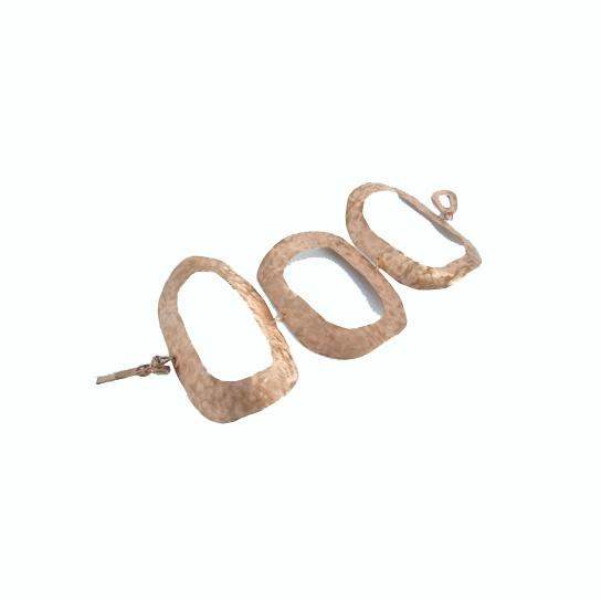 oval link bracelet copper www.arwerner.com