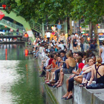 Canal Saint-Martin - Apéro