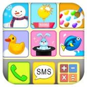 Med appen Buzz Me får barnen äntligen en egen telefon de kan prata i, sms:a och mms:a med, fast på låtsas så klart. Appen innehåller dessutom massor med roliga och pedagogiska spel. Svenskt tal.