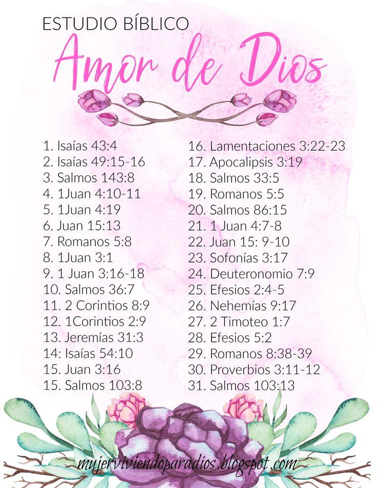 ESTUDIO BÍBLICO para mujeres: Amor de Dios