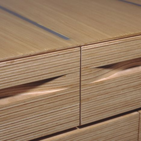 NADAAA Architects Wood Creations - really well-executed stacked-plywood furniture pieces.