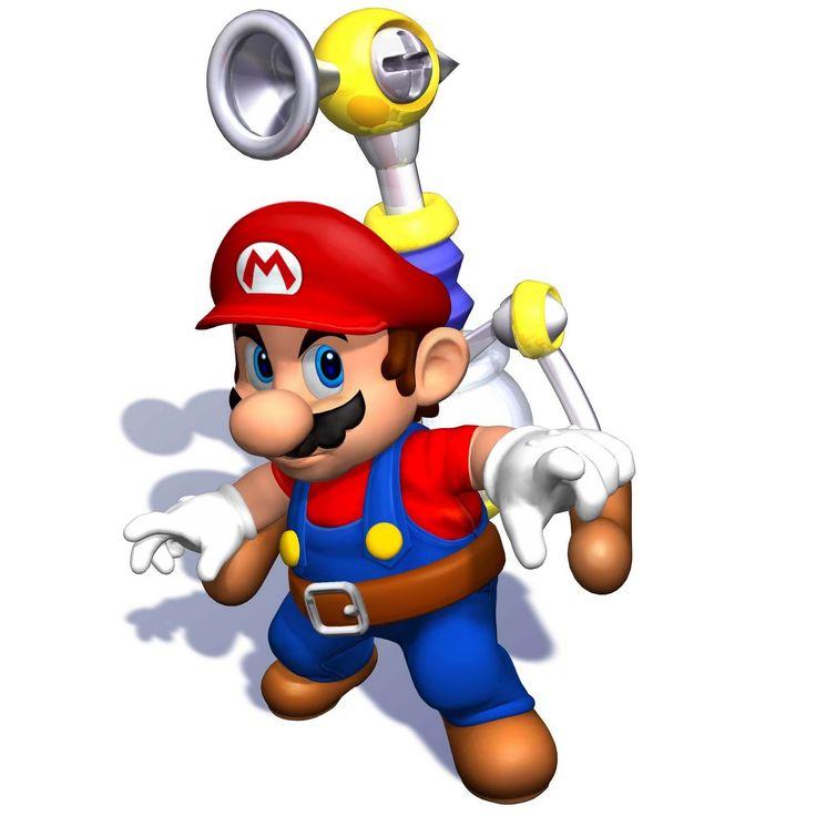 Super Mario es el fontanero con bigote protagonista de el famoso videojuego, que viste camisa azul, pantalones con tirantes rojos y realiza ...