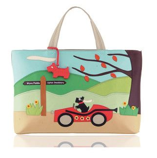 Radley Signature Away Day 2005 10th Radley Signature bag to be released. YEAR: 2005 SEASON: Autumn / Winter NAME: Away Day DESCRIPTION: Radley signature Away Day features a wonderful applique picture of Radley in his sports car passing a tree and a sign saying Wyre Piddle and Upton Snodsbury. The reverse …