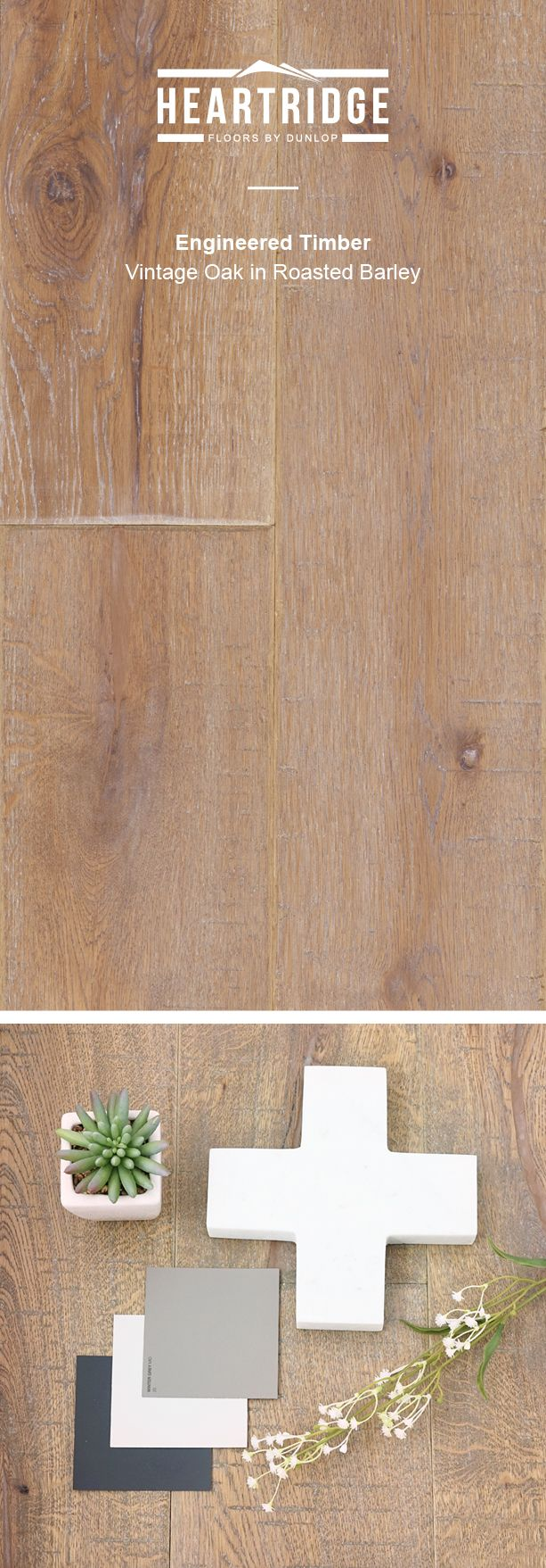 Enjoying a blend of grey and darker tones, Roasted Barley affords the versatility of choice for your home.