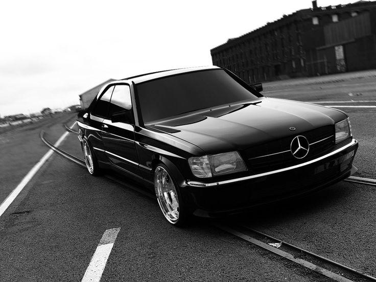 Mercedes 560 SEC AMG BLACK ELEGANCE