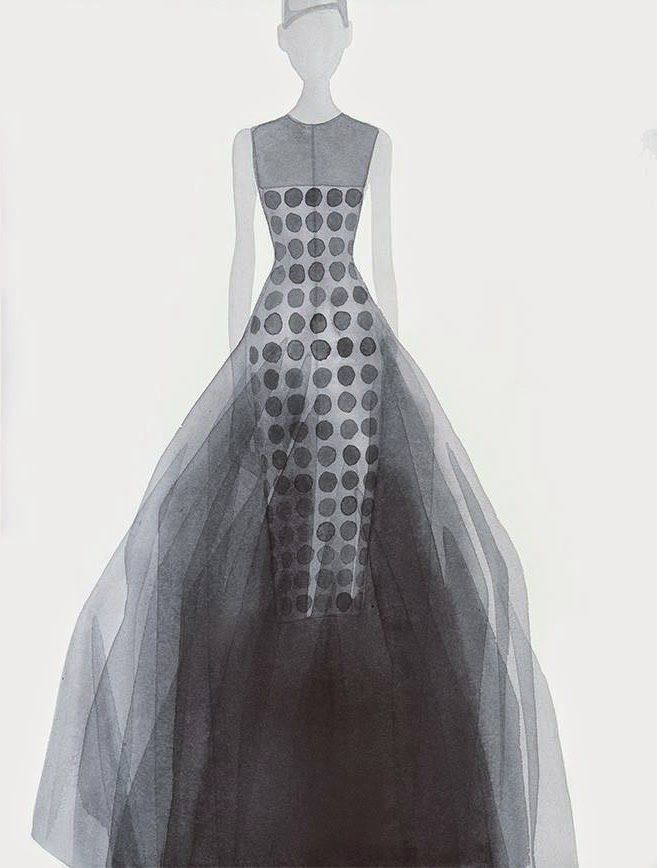 <p>Mats Gustafson emerged in the late 1970s, during a time when the realm of fashion illustration was eclipsed by photography and watercolor as a conceptual medium was barely explored, his independent