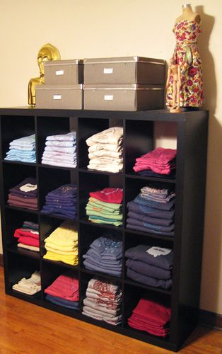 new tshirt storage | picked these up at ikea a few weeks ago… | Flickr