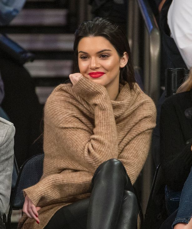 Kendall has faced criticism over her modelling career
