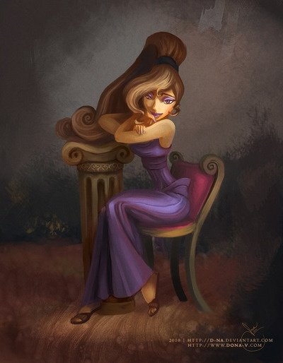 Meg. If I were a disney character then I'd definitely be her.