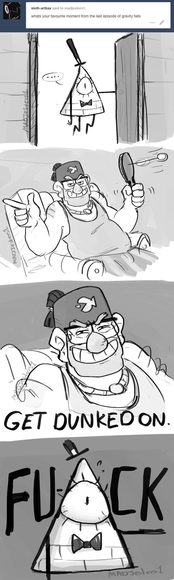 Gravity Falls- Get Dunked on Bill by MadJesters1 on DeviantArt