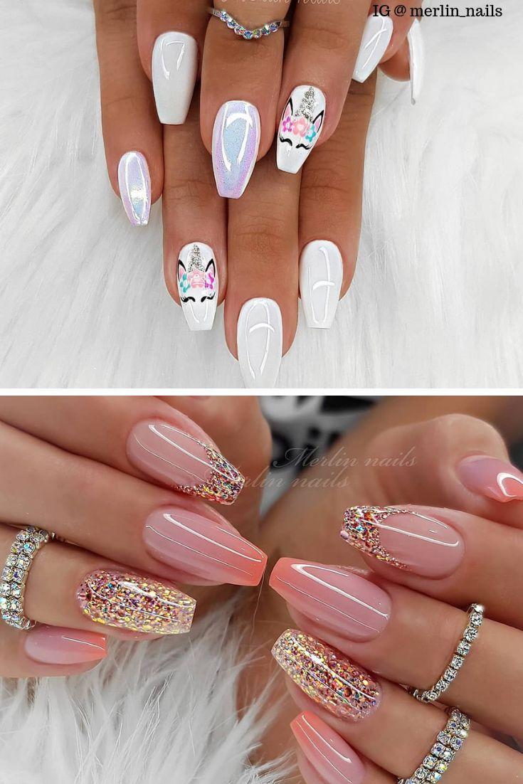 Sommer Acrylnägel 2019 – Nail Art Design – Acrylic nails