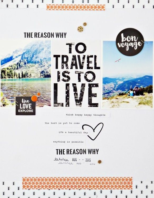 To travel is to live by shadia77 at @studio_calico